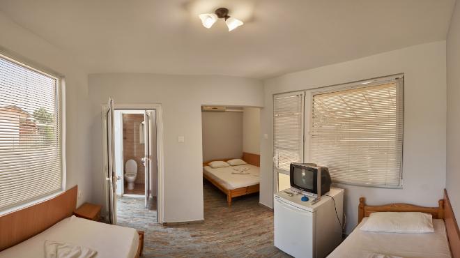 Бунгала с две преходни стаи
